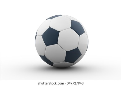 soccer ball isolated on white / Football / 3d render / football ball isolated