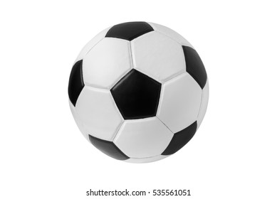 soccer ball on isolated.