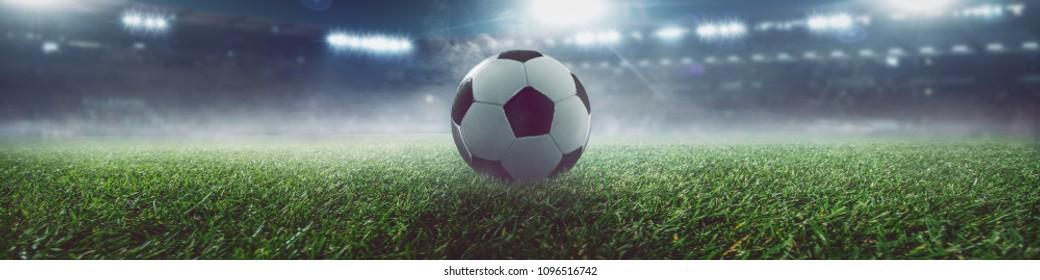 soccer banner background