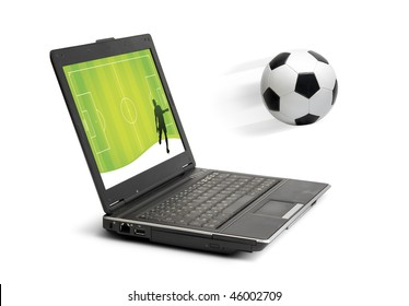 Soccer in computer