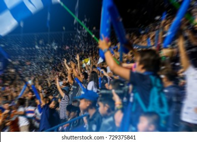 Fussball Fans Stadion Stock Photos Images Photography