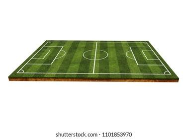 Soccer field .