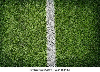 soccer field with green grass