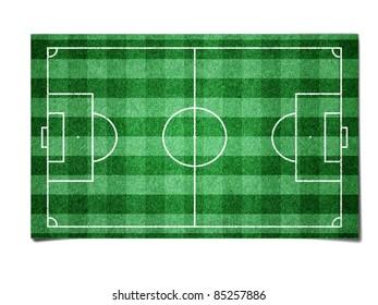 Soccer field paper
