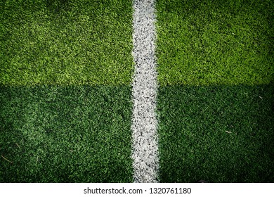 soccer field in stadium