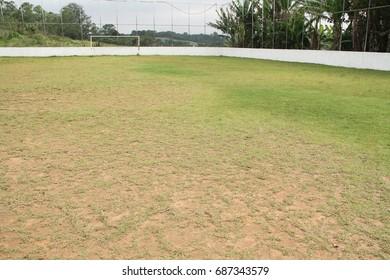 Soccer field, suburbs, Capital, Sao Paulo, Brazil.