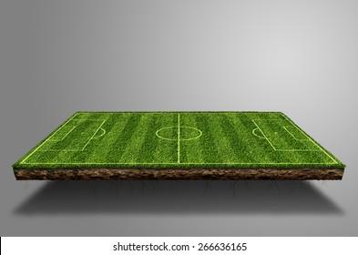 Soccer field Suspended