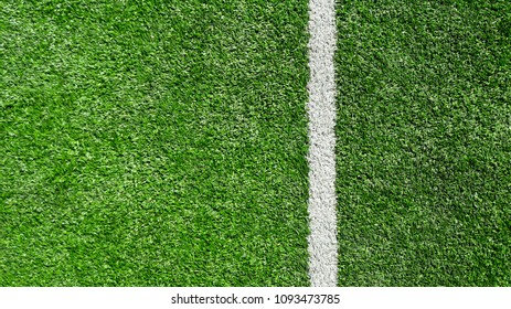 Soccer Field. Top View
