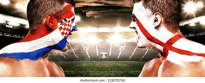 Croatia Soccer Fans Images Stock Photos Vectors Shutterstock