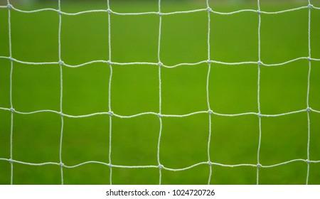 Soccer or football goal net