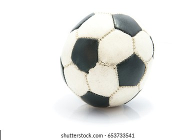 Soccer Football isolated on the white background.