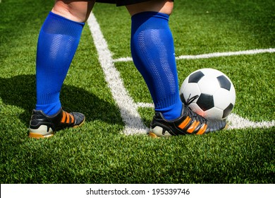 Soccer football,Corner kick