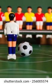 Soccer game ball table