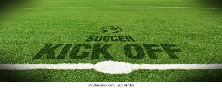 Soccer kick off