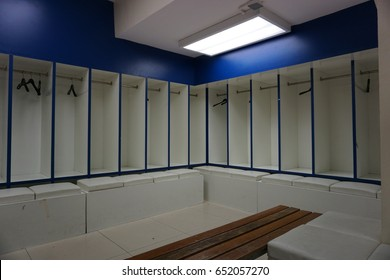 soccer locker room