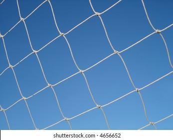 Soccer netting.