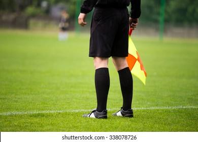 soccer referee guardalinee arbiter assistant