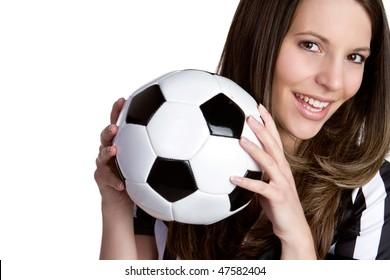 Soccer Referee Woman
