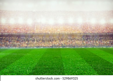 soccer or rugby stadium background