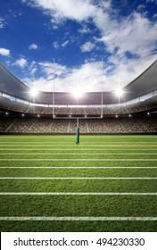 soccer stadium 3d rendering