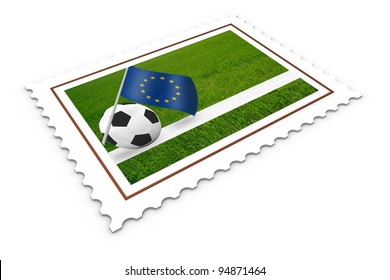 Soccer Stamp  Europe