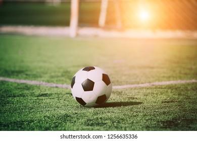 Soccer sunset / Football
