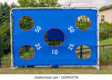 soccer trainig goal toy