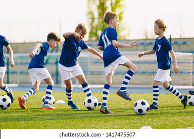 Soccer Training - Warm Up and Drills. Boys