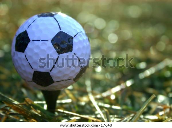 Soccer, uh, golf anyone?