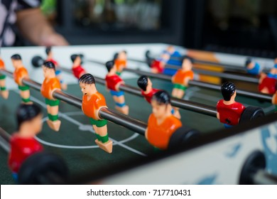 soccor table football game. entertainment. sport team