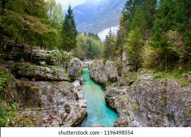 Socha river, Slovenia