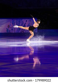 Sochi, RUSSIA - February 22, 2014: Gracie GOLD at Figure Skating Exhibition Gala at Sochi 2014 XXII Olympic Winter Games