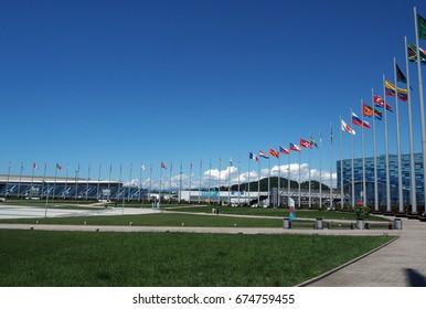 SOCHI, RUSSIA - May, 2016: Sochi Olympic Park