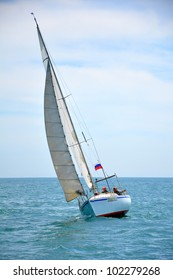 SOCHI, RUSSIA - MAY, 29: Sailing regatta for the Cup Sochi Yacht Club yachts of the high seas ORC (cruisers) on May 29, 2011 in Sochi, Russia