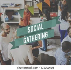 Social Gathering Community Society Unity Group Concept