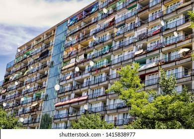 Social housing in berlin schoenberg, germany