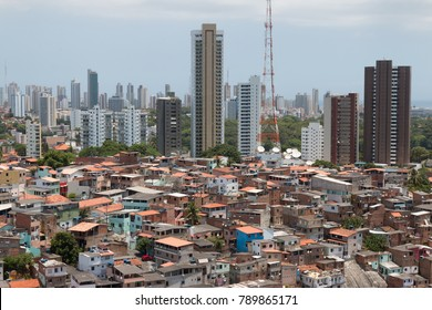 Social inequality - Buildings and favela