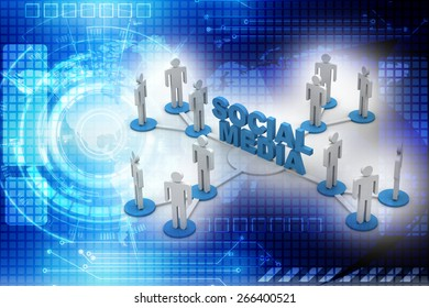 social media business network