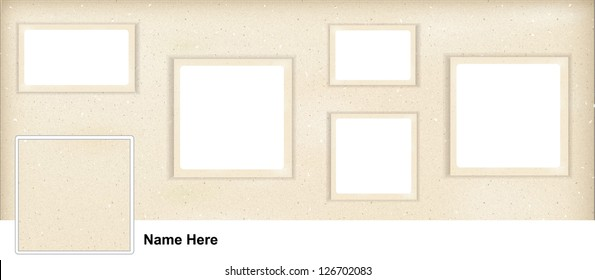 SOCIAL MEDIA,  FACEBOOK COVER + PROFILE TEMPLATE. Panoramic template format to add you pictures.
