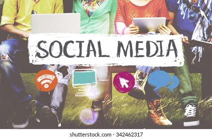 Social Media Networking Connection Concept