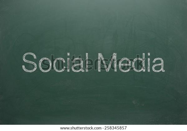 Social Media on Green Board