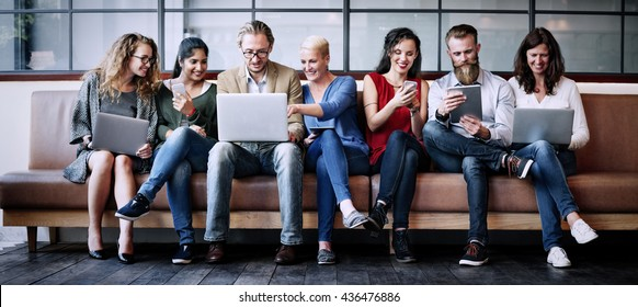 Social Media Online Connect Wireless Technology Concept