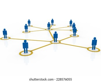 social network community men team