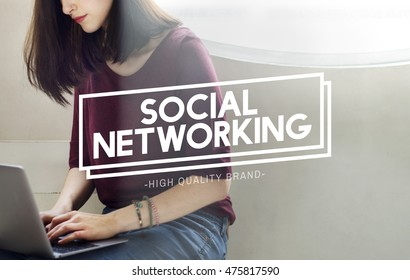 Social Networking Communication Online Concept