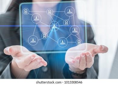 Social networking technologies . Mixed media