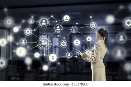 Social networking technologies. Mixed media