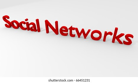 Social Networks in 3D