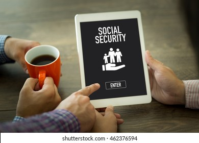 SOCIAL SECURITY SEARCH WEBSITE INTERNET SEARCHING CONCEPT