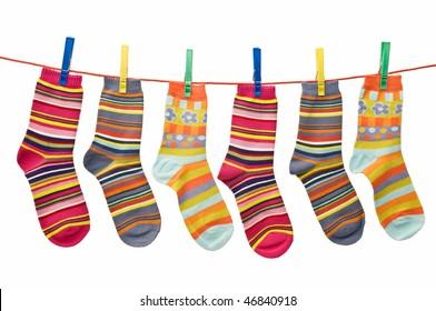 socks lying