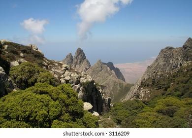Socotra Island Mountains